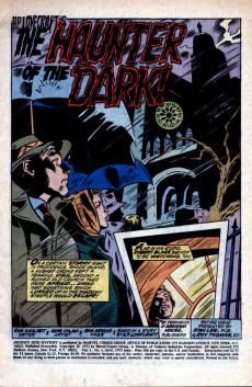 Extrait de Journey into Mystery Vol. 2 (Marvel - 1972) -4- The Haunter of the Dark!