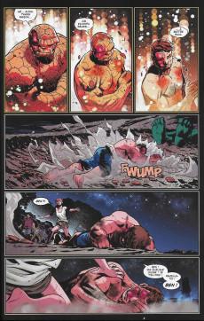 Extrait de Fantastic Four (100% Marvel - 2019) -4- La Chose Vs l'immortel Hulk