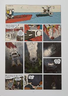 Extrait de New Cherbourg Stories -2- Le silence des Grondins