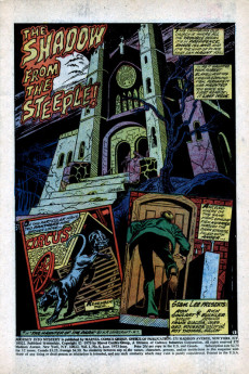 Extrait de Journey into Mystery Vol. 2 (Marvel - 1972) -5- The Shadow from the Steeple!
