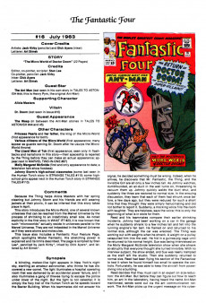 Extrait de The official Marvel Index to the Fantastic Four (Marvel comics - 1985) -2- Issue # 2