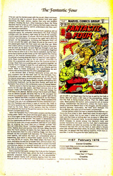Extrait de Official Marvel Index to the Fantastic Four (The) (Marvel comics - 1985) -10- Issue # 10