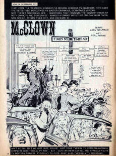 Extrait de Crazy magazine (Marvel comics - 1973) -2- 007-11s Maddest Mission Live and Let Spy !