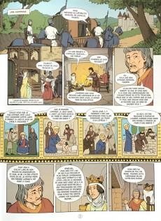 Extrait de Histoire de France en bande dessinée -15- Saint Louis le roi chevalier 1226-1270