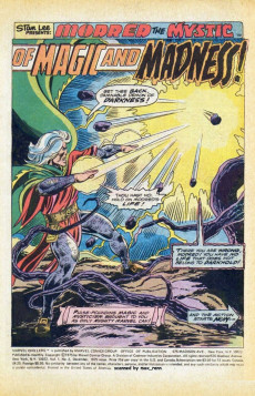 Extrait de Marvel Chillers (Marvel comics - 1975) -2- Alone against...The Other!