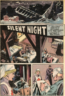 Extrait de Christmas with the super-heroes (DC comics - 1988) -2- Silent night