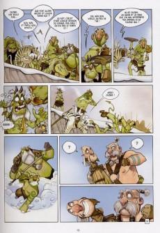 Extrait de Robin Hood (Brrémaud/Loche) -3- Robin