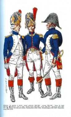 Extrait de (AUT) Funcken - Grenadiers à pied de la garde impériale