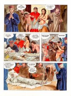 Extrait de Borgia (Jodorowsky/Manara) -1- Du sang pour le pape
