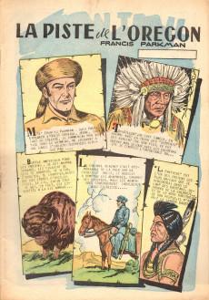 Extrait de Classiques illustrés (1re Série) -7- Sur la piste de l'Orégon