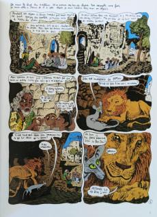Extrait de Le chat du Rabbin -4a2017- Le paradis terrestre