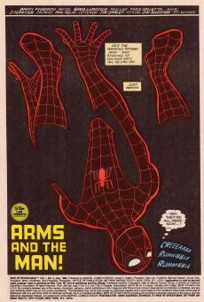 Extrait de Web of Spider-Man Vol. 1 (Marvel Comics - 1985) -4- Arms and the Man!