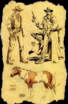 Extrait de The lone Ranger Vol.1 (Dynamite - 2006) -1DC- Issue # 1 Director's cut