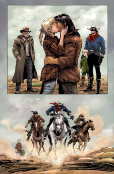 Extrait de The lone Ranger Vol.1 (Dynamite - 2006) -21- Issue # 21