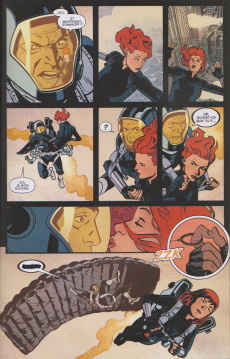 Extrait de Marvel Comics - La collection (Hachette) -168132- Black Widow - S.H.I.E.L.D.'s Most Wanted