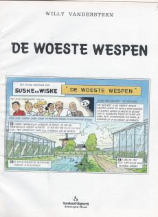 Extrait de Suske en Wiske -211- DE WOESTE WESPEN