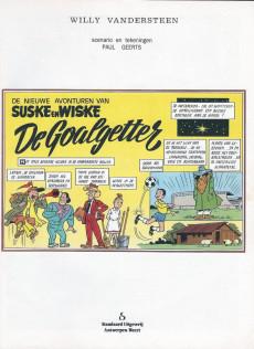 Extrait de Suske en Wiske -225- DE GOALGETTER