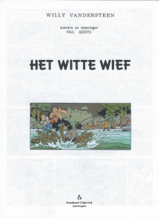 Extrait de Suske en Wiske -227- HET WITTE WIEF