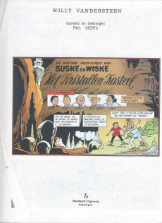 Extrait de Suske en Wiske -234B (Plus 36- HET KRISTALLEN KASTEEL