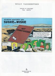 Extrait de Suske en Wiske -241- HET ARUBA-DOSSIER