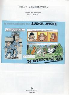 Extrait de Suske en Wiske -243- DE AVERECHTSE AAP