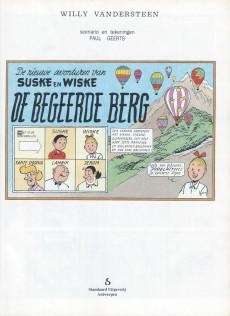 Extrait de Suske en Wiske -244- DE BEGEERDE BERG