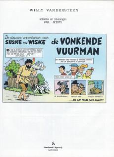Extrait de Suske en Wiske -246- DE VONKENDE VUURMAN
