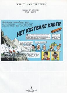 Extrait de Suske en Wiske -247- HET KOSTBARE KADER