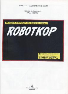 Extrait de Suske en Wiske -248- ROBOTKOP