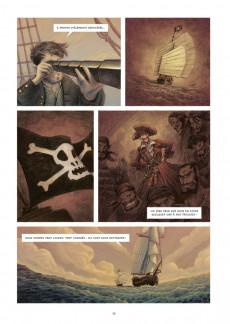 Extrait de Les voyages de Gulliver (Galic/Echegoyen) - De Laputa au Japon