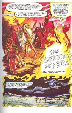 Extrait de ElfQuest - La Fantastique quête des elfes -1- Les rescapés du feu