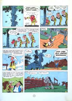 Extrait de Lucky Luke -17b1972- Sur la piste des Daltons