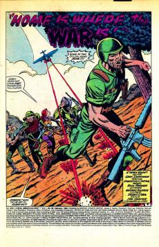 Extrait de G.I. Joe: A Real American Hero (Marvel comics - 1982) -20- Home is where the war is