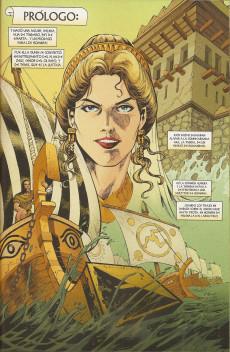 Extrait de Clasicos Ilustrados Marvel - La Ilíada