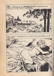 Extrait de Candida la Marchesa (2e série, en italien) -8- Cleo de Merode