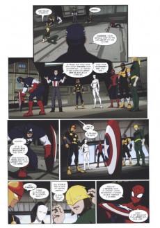 Extrait de Ultimate Spider-Man (Panini Kids) -5- Le bouclier de Captain America