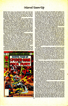 Extrait de The official Marvel index to Marvel Team-Up (1986) -5- Issue # 5