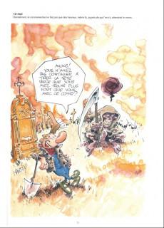 Extrait de Pierre Tombal -HS3- Petites chroniques illustrées du temps du Covid selon Pierre Tombal
