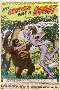 Extrait de My greatest adventure Vol.1 (DC comics - 1955) -42- I Was a Pawn in a Space Duel!