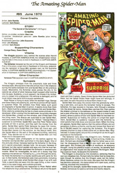 Extrait de The official Marvel Index to Amazing Spider-Man (1985) -4- Issue # 4