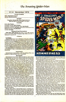 Extrait de The official Marvel Index to Amazing Spider-Man (1985) -5- Issue # 5