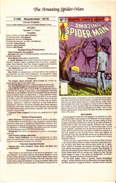 Extrait de The official Marvel Index to Amazing Spider-Man (1985) -9- Issue # 9