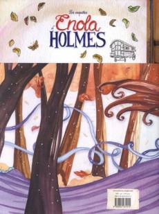 Extrait de Les enquêtes d'Enola Holmes -1ES- Tome 1