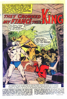 Extrait de My greatest adventure Vol.1 (DC comics - 1955) -64- The Creature We Dared Not Kill!