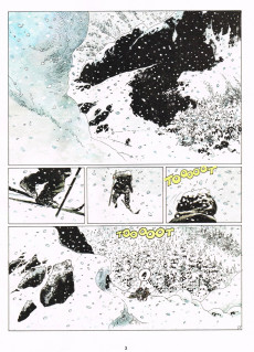 Extrait de Thorgal -15- Le maître des montagnes