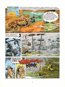 Extrait de Natacha -18- Natacha et les dinosaures