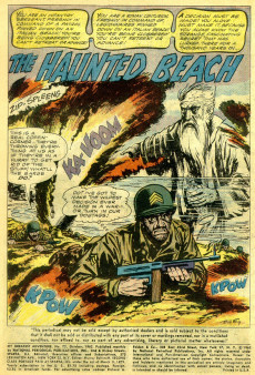 Extrait de My greatest adventure Vol.1 (DC comics - 1955) -72- The Haunted Beach!