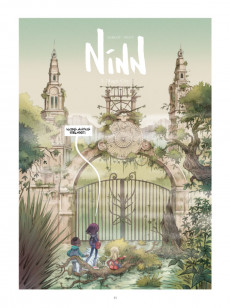 Extrait de Ninn -5- Magic City