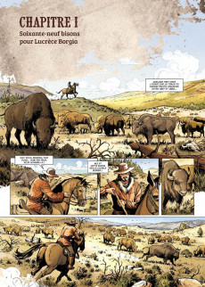 Extrait de West Legends -4- Buffalo Bill, Yellowstone