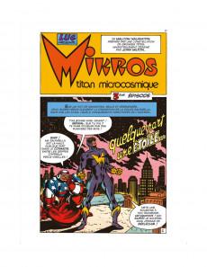 Extrait de Mikros (Une aventure de) -1- Titan microscopique